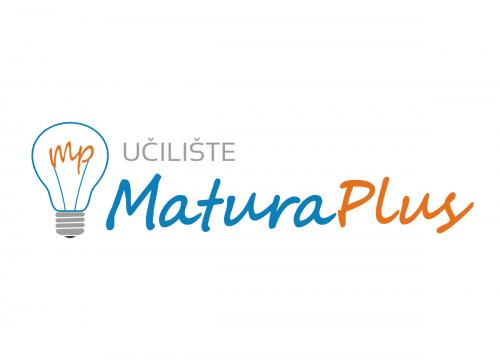 "Matura Plus Vinkovci - logotip (""landscape"" verzija)"